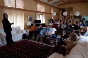 Jubilares de España. Bienvenida en La Granja